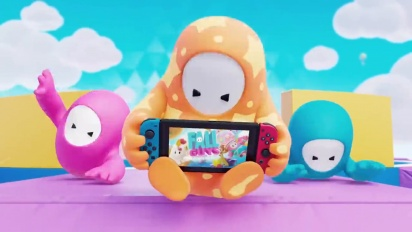 Fall Guys: Ultimate Knockout - Nintendo Switch Announcement