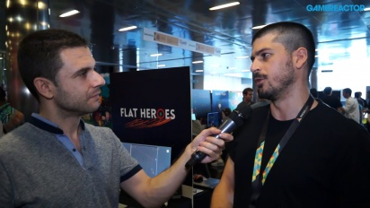 Flat Heroes - Lucas González-intervju