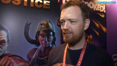 Raging Justice - Nic Makin intervjuad