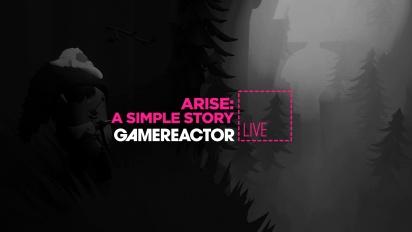 GRTV spelar de första timmarna av Arise: A Simple Story