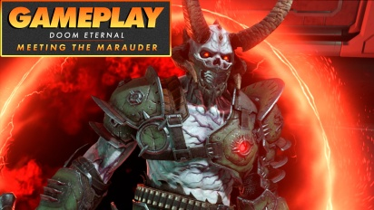 Doom Eternal - Meeting the Marauder Gameplay