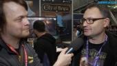 GRTV pratar med studion bakom City of Brass