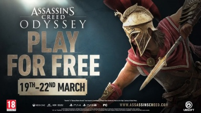 Assassin's Creed Odyssey - Free Weekend Trailer
