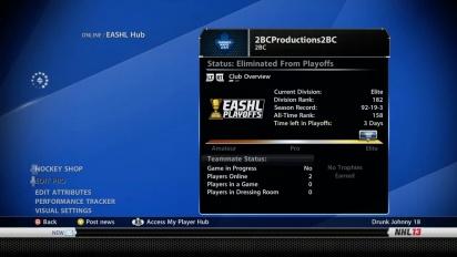 NHL 13 - Tips and Tricks: EASHL Pro Setup Trailer