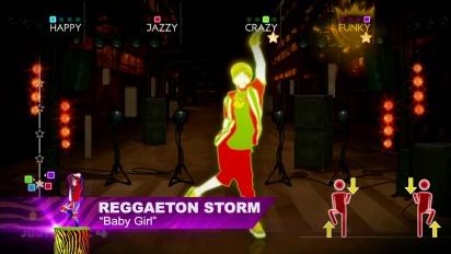 Just Dance 4 - Reggaeton Storm: Baby Girl - DLC Gameplay
