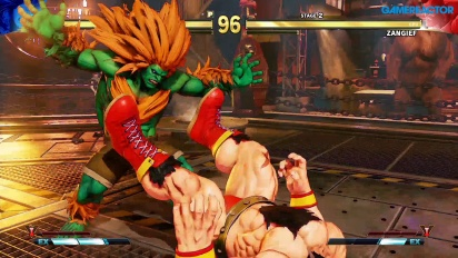 Street Fighter V: Arcade Edition - Blanka vs Zangief