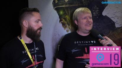 Destiny 2 - Scott Taylor and Örvar Halldórsson Interview
