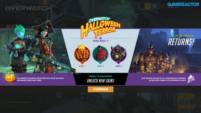 Overwatch - Halloween Opening and Junkenstein's Revenge Gameplay