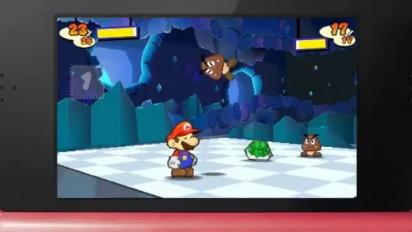 Paper Mario 3DS - TGS 2011-trailer