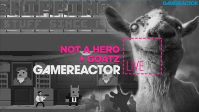 Not A Hero + Goat Simulator: GoatZ