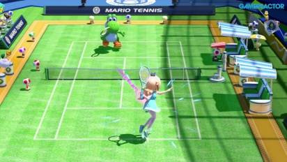 Vi spelar Mario Tennis: Ultra Smash