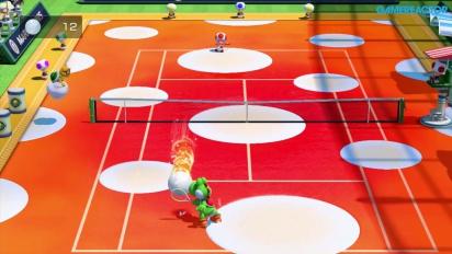 Mario Tennis: Ultra Smash - Yoshi vs Toad