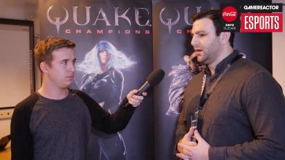 Vi pratar med Id Software om Quake Champions