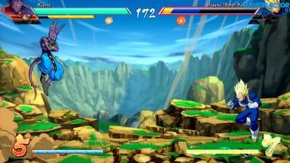 Vi spelar Dragon Ball FighterZ (versus)
