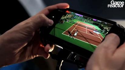 TGS 11: Virtua Tennis 4: World Tour Vita-gameplay