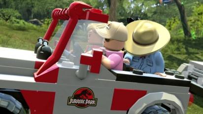 Lego Jurassic World Trailer 2