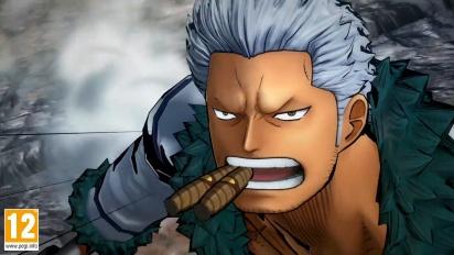 One Piece: Burning Blood - Smoker Move Set - Trailer