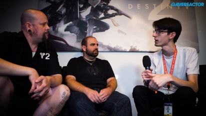 Destiny 2 - Thomas Gawrys & David Shaw intervjuad