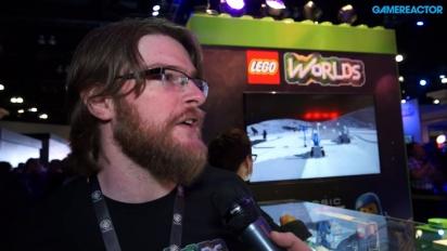 Lego Worlds - Chris Rose intervjuad