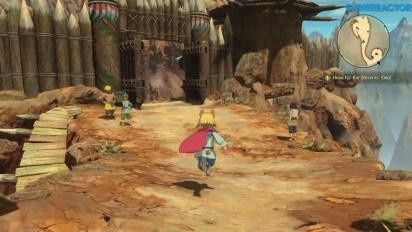 Vi klämmer lite mer på Ni no Kuni II: Revenant Kingdom
