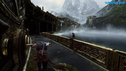 GRTV spelar God of War (vad är Bifrost?)