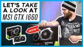 GRTV nallar på MSI GeForce GTX 1660TI Gaming X