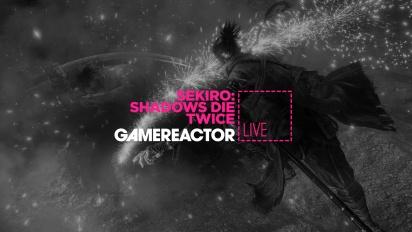 GRTV spelar lite mer av Sekiro: Shadows Die Twice