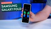 Samsung Galaxy Fold - Gamereactor packar upp