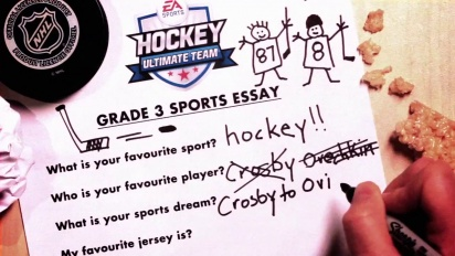 NHL 14 - Only in HUT: Crosby to Ovechkin