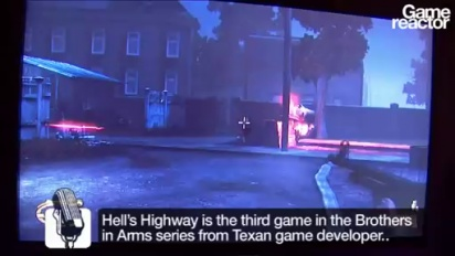 E3 Brothers in Arms: Hell's Highway presentation