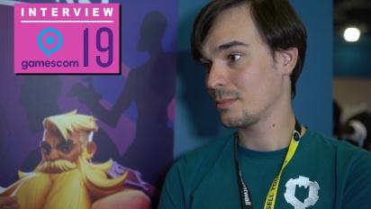 GRTV på Gamescom 19: Intervju med studion bakom Darksburg