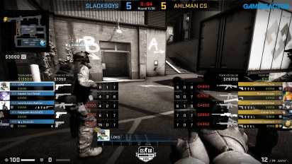 OMEN by HP Liga - Div 1 Round 2 - SLACKBOYS vs Ahlman_cs - Train.