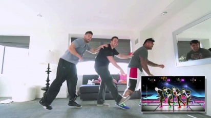 Just Dance 4 - Pro Football Player Dance Off Trailer