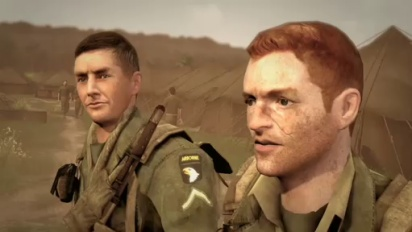 Brothers in Arms: Hell's Highway - Behind The Scenes: Character Emotions Trailer