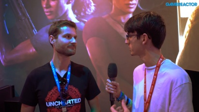 Uncharted: The Lost Legacy - James Cooper intervjuad
