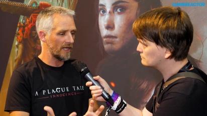 GRTV intervjuar teamet bakom A Plague Tale: Innocence