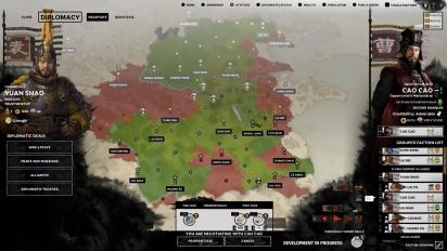 Total War: Three Kingdoms - Diplomacy Gameplay Reveal (Part 2)