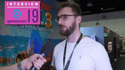 GRTV på Gamescom 19: Intervju med folket bakom Asterix & Obelix XXL 3