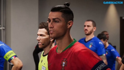 eFootball PES - EURO 2020 Portugal vs Italy Full Match Gameplay