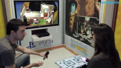 Wonderbook: Diggs Nightcrawler - gameplay-demo