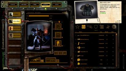 Wasteland 2 - Inventory Demo Trailer