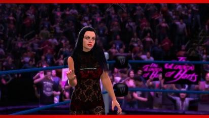 WWE 2K14 - Aksana Entrance and Finisher