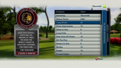 Tiger Woods PGA TOUR 13 - Country Clubs Trailer