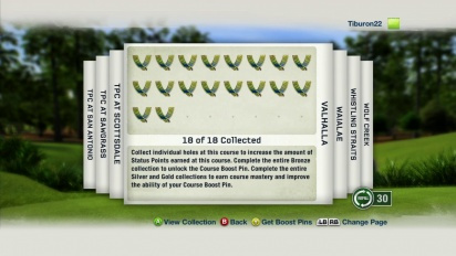 Tiger Woods PGA TOUR 13 - Course Mastery Coins