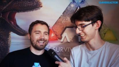 Ark: Survival Evolved - Jesse Rapczak intervjuad