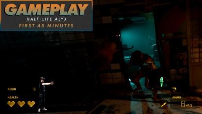 GRTV visar upp de inledande 45 minuterna av Half-Life: Alyx