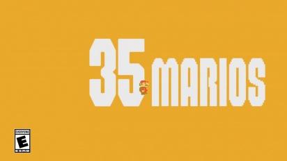 Super Mario Bros. 35 - Launch Trailer - Nintendo Switch