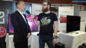 Vi pratar Oled och gaming med LG:s Jonas Markén