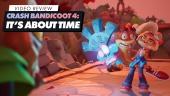 GRTV recenserar Crash Bandicoot 4: It's About Time
