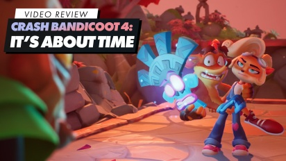 GRTV recenserar Crash Bandicoot 4: It's About Time